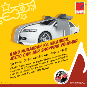 Radio Nasha Delhi Contest – Get Chance to Win More exciting Prizes