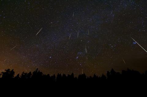 Geminidi :pioggia di stelle cadenti 13 - 12 - 2o14