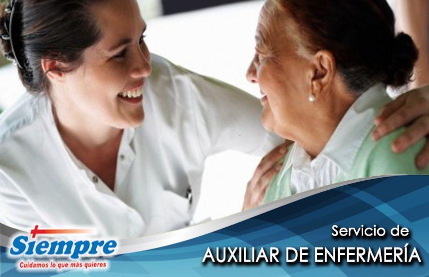 Contamos con servicio de #AuxiliarDeEnfermería, que brinda asistencia y colabora en las tareas médicas diarias de los paciente. Si necesitas más información escríbenos por inbox o visita: http://www.siempremexico.com.mx/portalwp/servicios/auxiliar-de-enfermeria-2