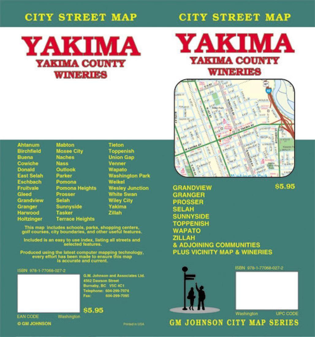 Yakima and Yakima County Washington Wineries by GM Johnson