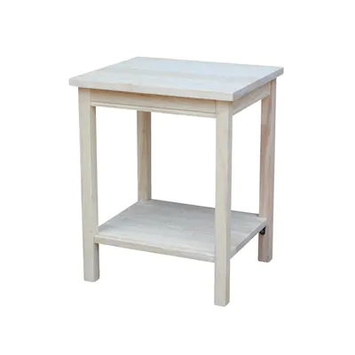 International Concepts Port Man Accent Table At Lowes Com In 2020
