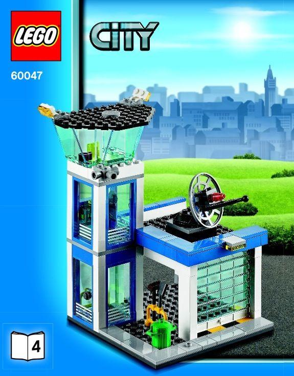 Lego Police Station Instructions 60047 City Lego City Police Station Lego City Police Lego Police