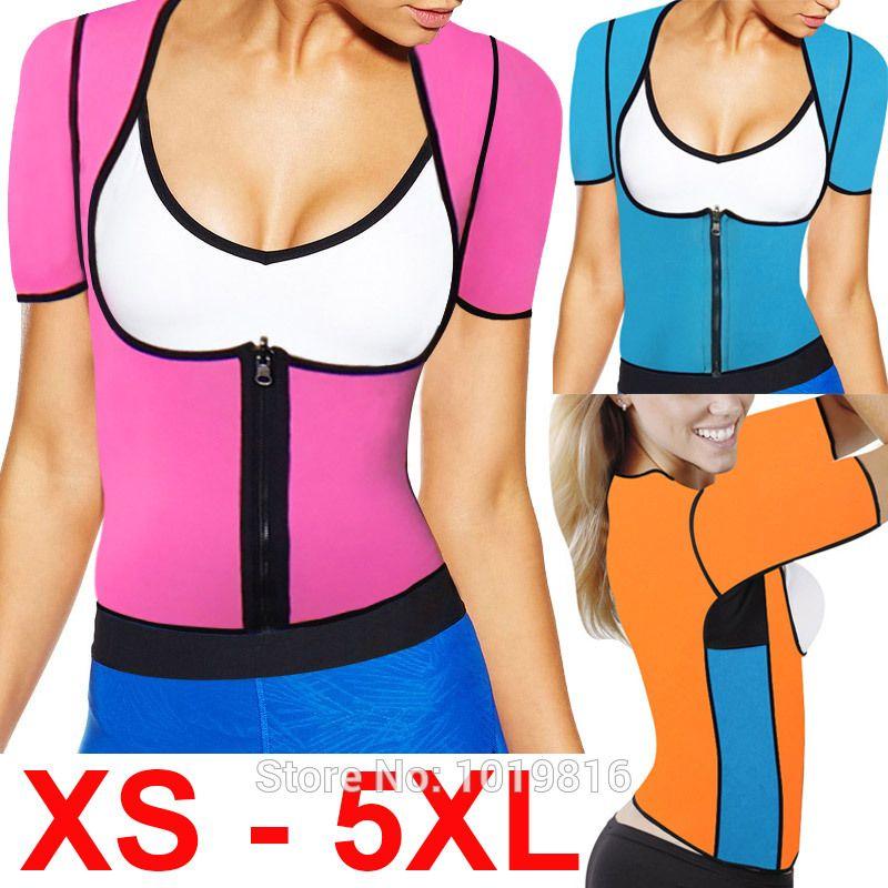 2017 neue XS-6XL plus größe frauen schweiß verbesserung taille korsett taille trainer sauna anzug sexy weste hot former body e85