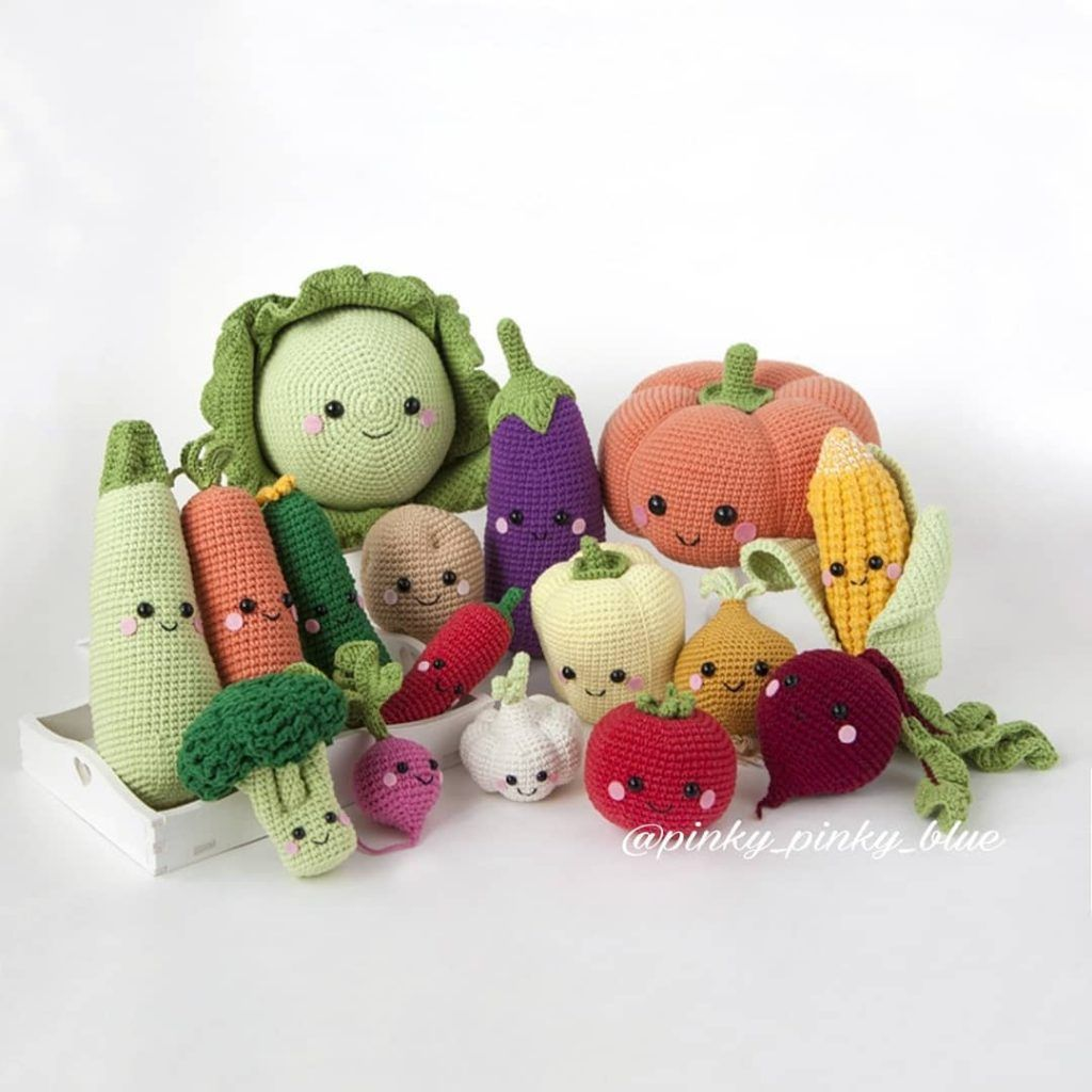 Crochet Fruit And Vegetable Patterns All The Best Ideas   1024x1024