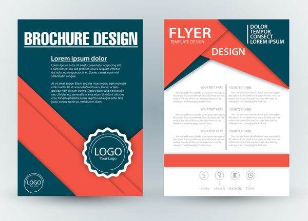 Brochure Templates Cdr Free Download 6 Templates Example Templates Example Di 2020 Brosur Desain Banner Desain