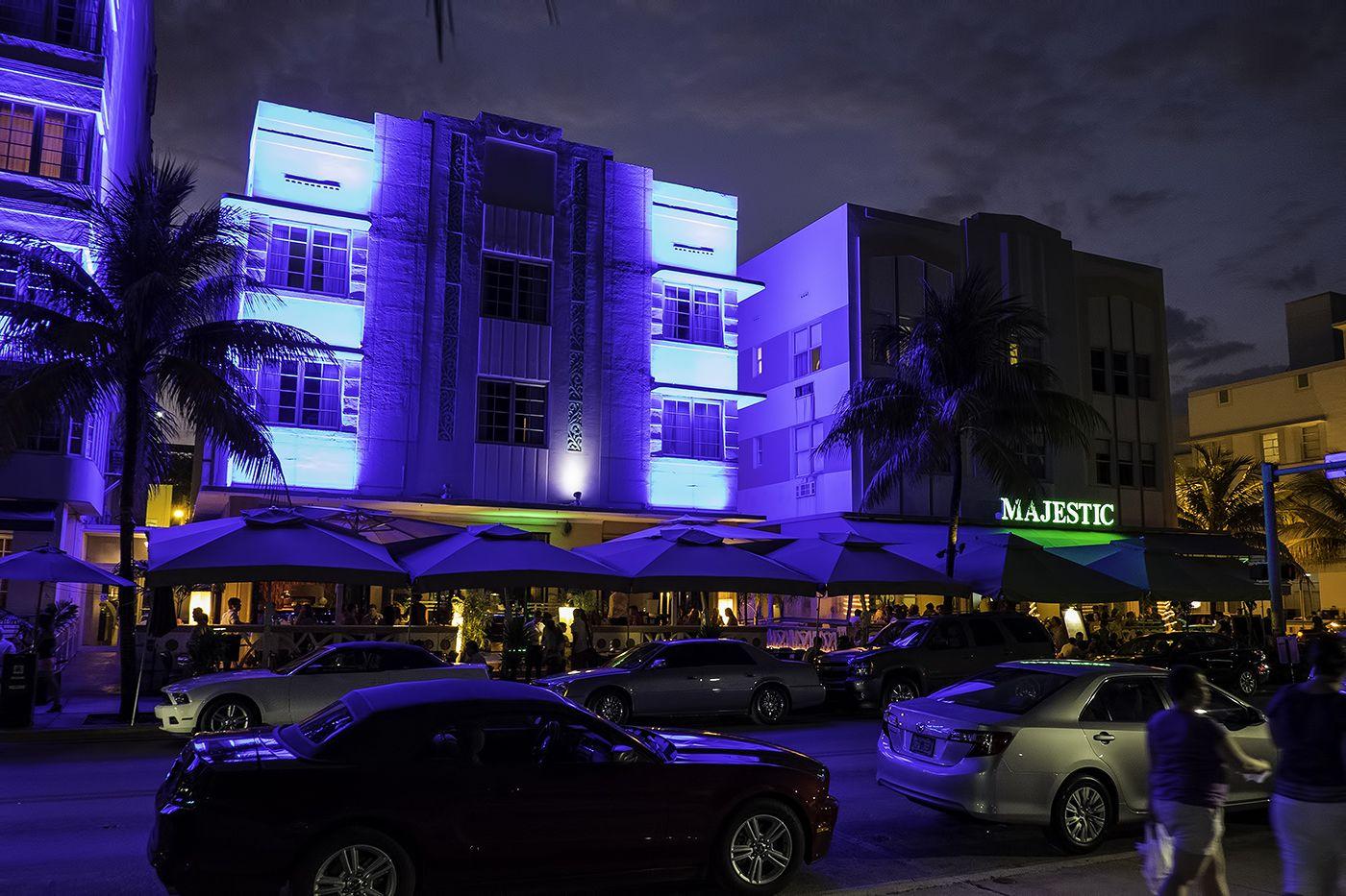 Majestic Hotel South Beach Miami Art Deco District