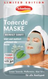 Schaebens Tonerde Maske 10ml Gesicht Pflege Masken Haut