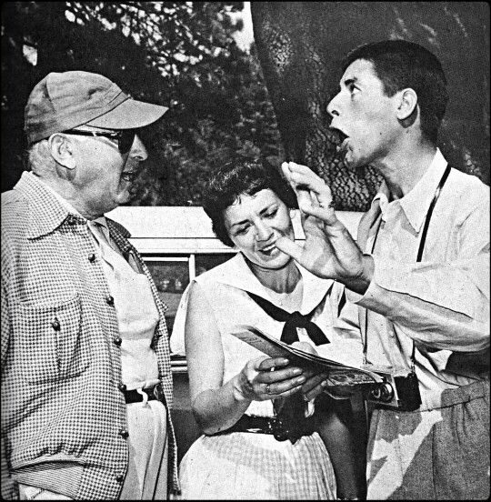 Jerry and Patti with Norman Taurog
