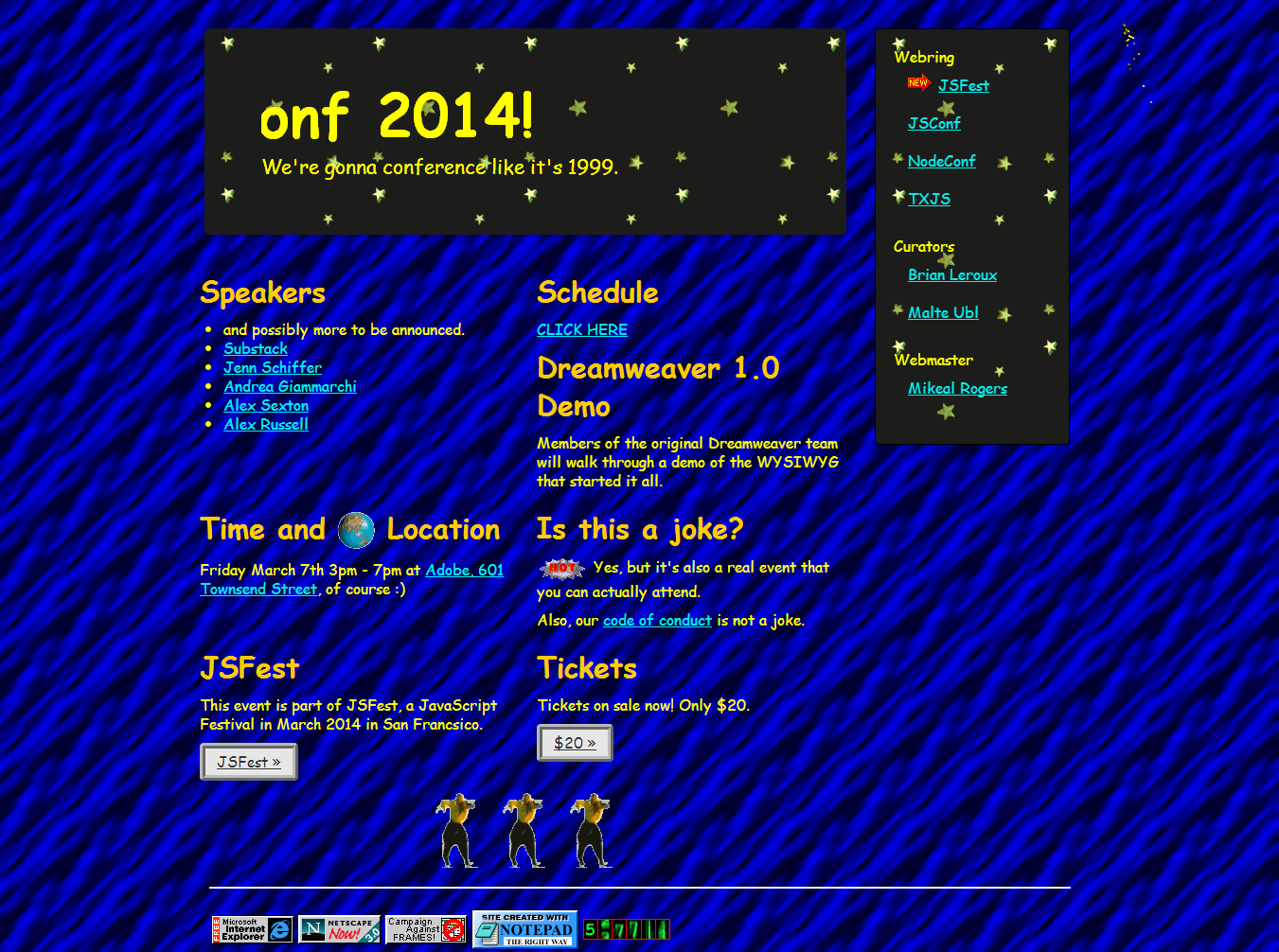 DHTMLConf 2014