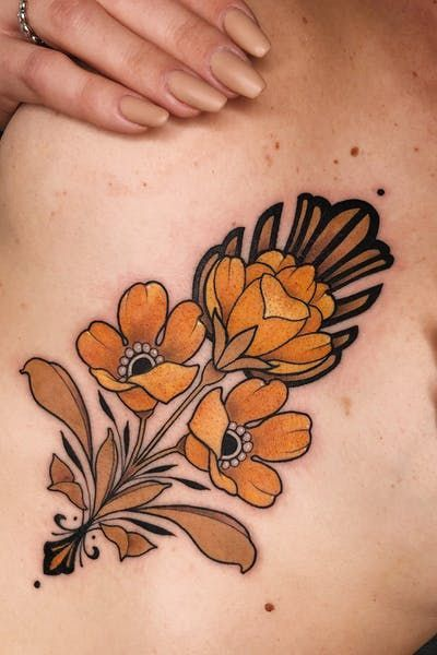 Pin By Georgia On Ink Traditional Style Tattoo Neo Traditional Tattoo Traditional Tattoo