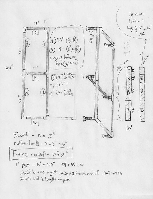Silk Scarf Stretcher Instructions: Hogencamp Creations