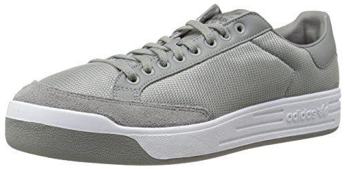 Adidas UK Adidas Originals Mens Rod Laver Sneaker Solid Grey/Solid Grey/Running White M Solid Grey