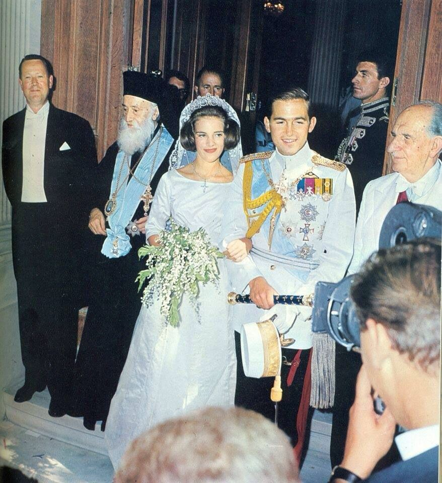 Real Greek Weddings: King And Queen Of Greece In 2019