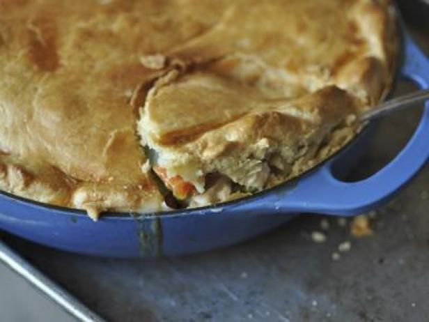 Ina Gartens Chicken Pot Pie The Weekender Chicken Pinterest