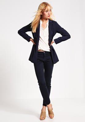 1969c3c461b80 Selected Femme SFINGRID - Pantalón chino - navy blazer - Zalando.es ...