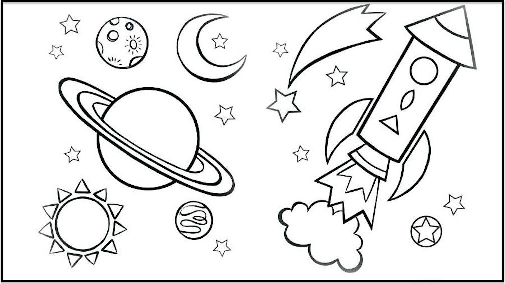 Galaxy Coloring Pages Best Coloring Pages For Kids Space Coloring Pages Planet Coloring Pages Preschool Coloring Pages