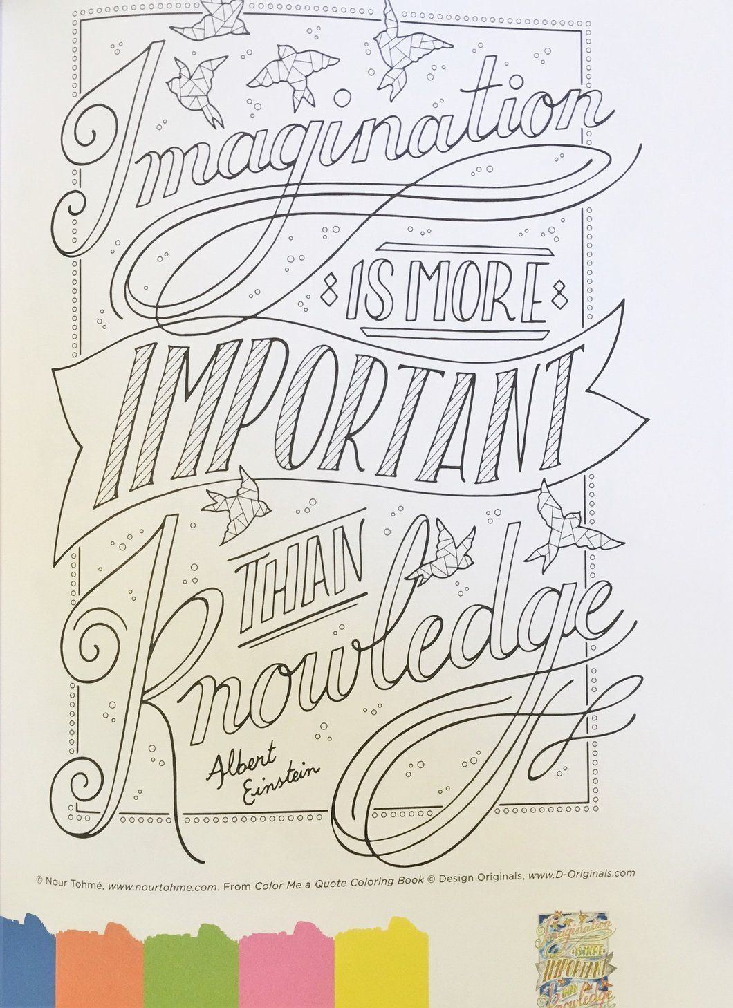Color Me a Quote Coloring Book - Coloring Book Zone | Crafts ...