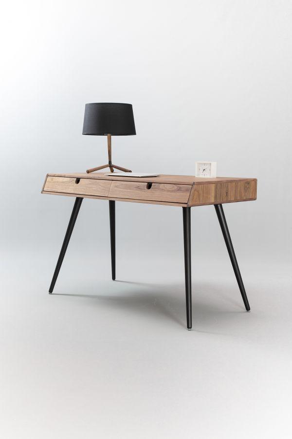 manuel barrera solid walnut wood desk furniture pinterest rh pinterest com