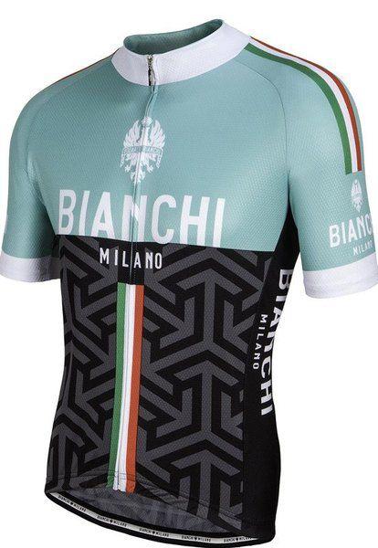 66a1bb79995 Bianchi Milano Pontesei Green Black Jersey