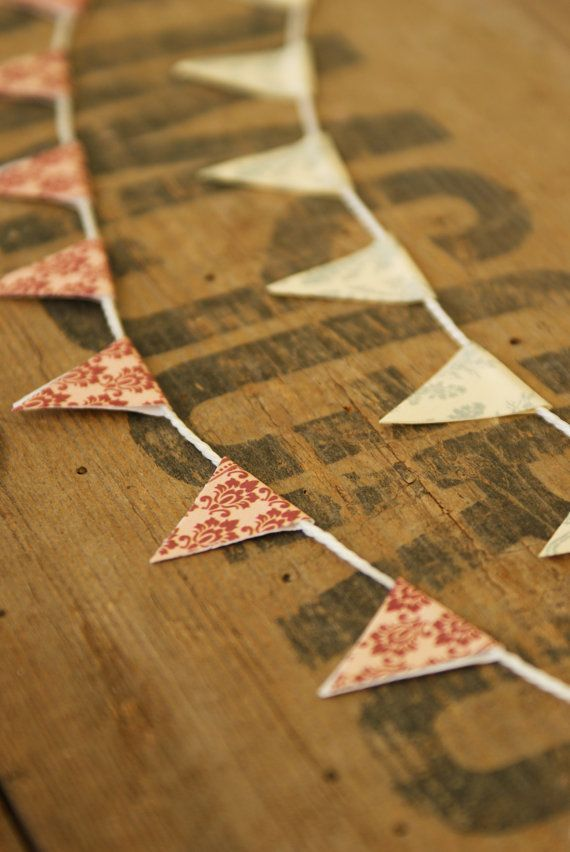 Miniature Bunting - make my own        for July 4th