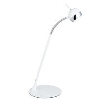 Stojąca LAMPA stołowa RUFIO 7021128 Spotlight metalowa LAMPKA biurkowa na peszlu LED 5,7W biała