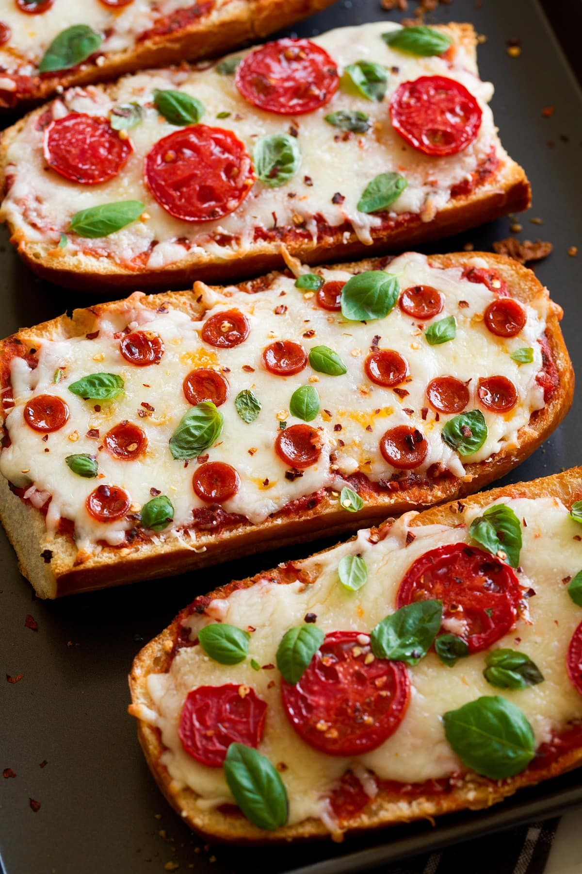 French Bread Pizza – Cooking Classy