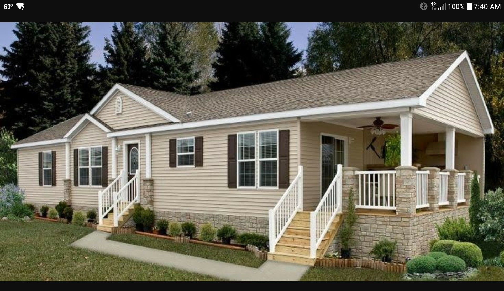 mobile home exteriors mobile home repair mobile home porch rh pinterest com