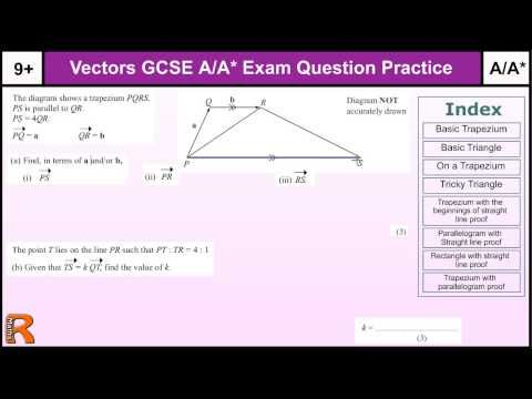 How To Do Vectors A A Gcse Maths Revision Higher Level Worked Exam Questions Inc Straight Lines Gcse Maths Revision Gcse Math This Or That Questions
