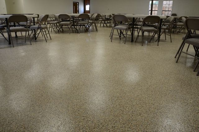 Liquid Granite Epoxy Floor System In A Church Common Space Epoxy Floor Flooring Granite
