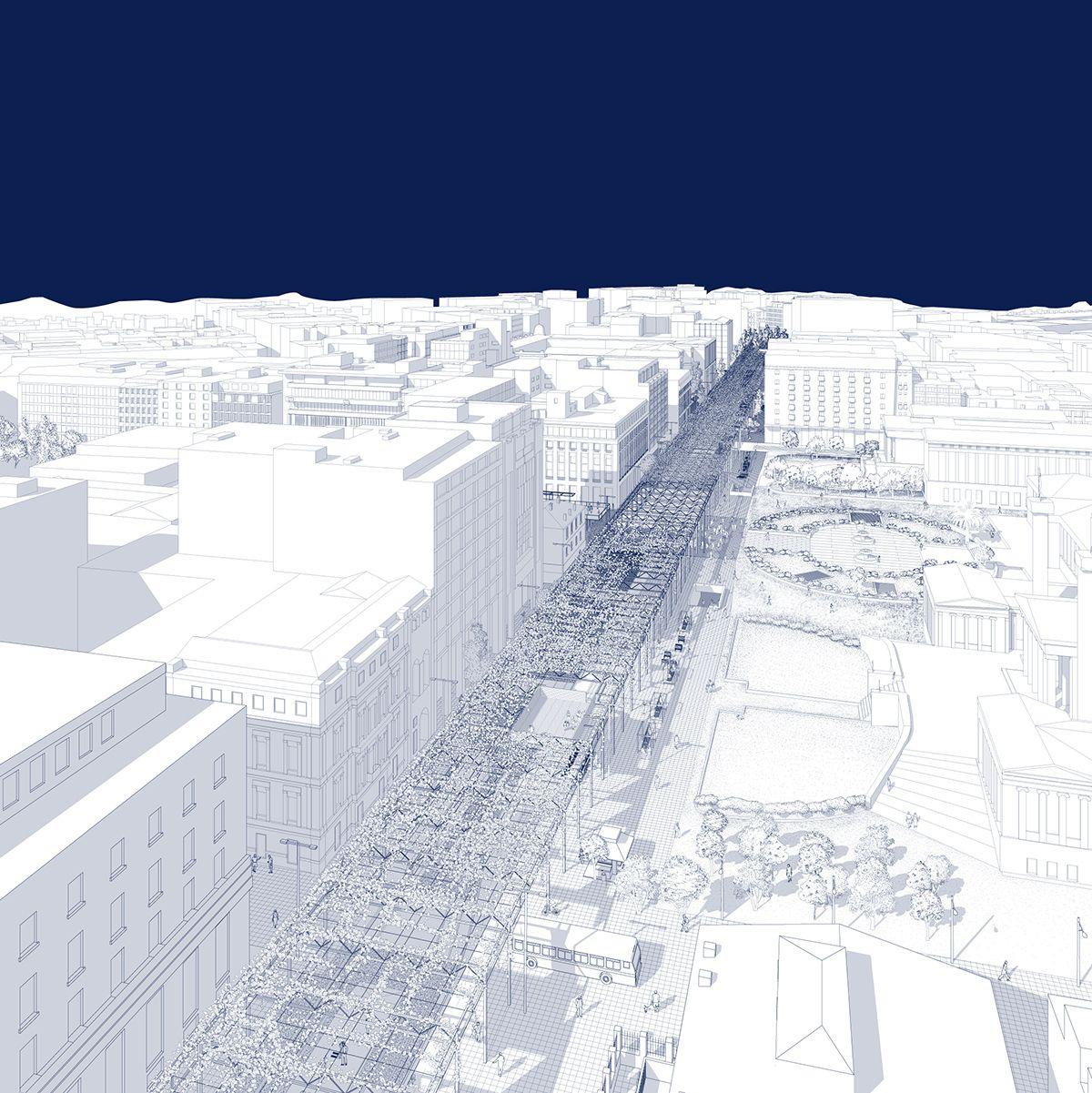 Rethink Athens: Towards a new city centre