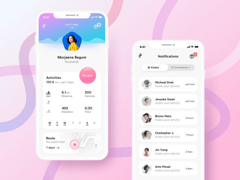 Pin on APP Card UI Design