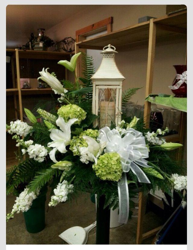 wedding centerpieces fake flowers%0A Candle holder arrangement