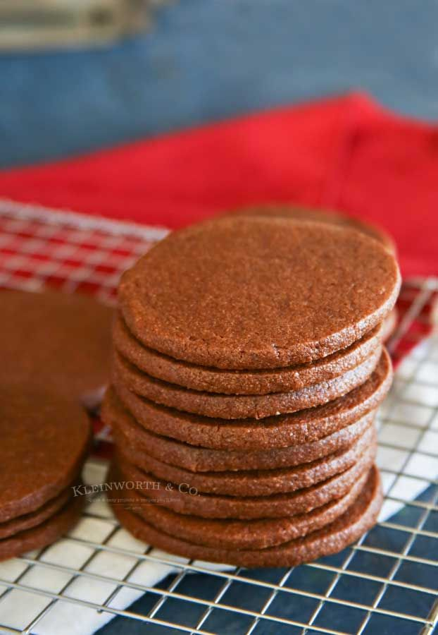 Easy Chocolate Sugar Cookies are super soft  chewy Delicious when frosted for the holidays but so good you can enjoy them without any decorating too