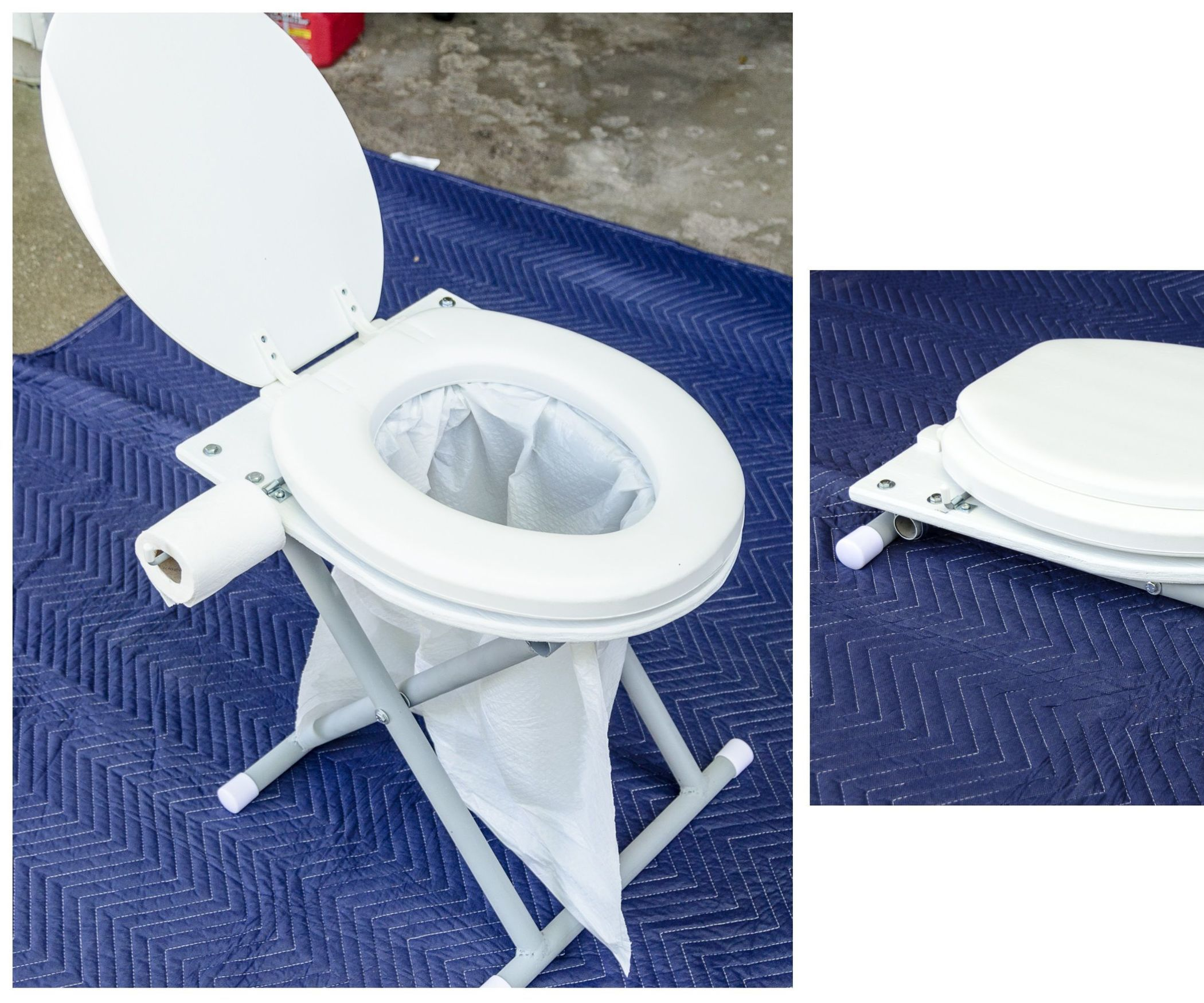 This tutorial will show how to make a portable commode for travel, camping, hunting,…