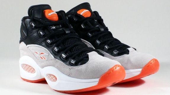 new arrival 097e7 5dbca Mix the silhouette of the iconic Allen Iverson shoe with the memorable  kicks worn by Dee Brown during Dunk Contest and you get the Reebok Question  Pump OG.