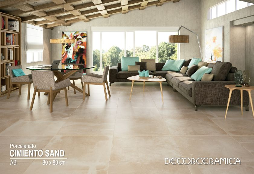 Conoce un piso porcelanato con estilo urbano ideal para ti for Nivelar piso de tierra