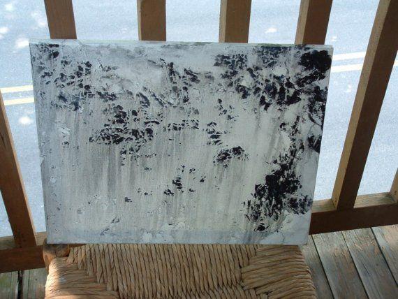 Morning Rain.. ... .16 x 20 Original Acrylic on by HollyFerencze, $64.95