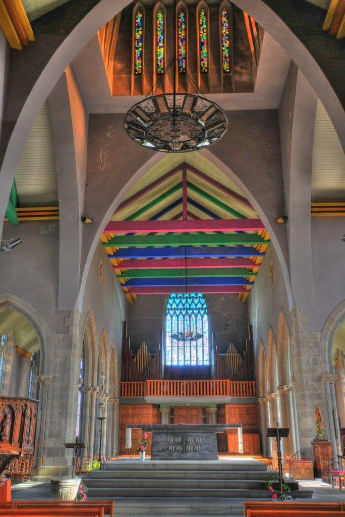 Plougastel-Daoulas church altar, Bretagne