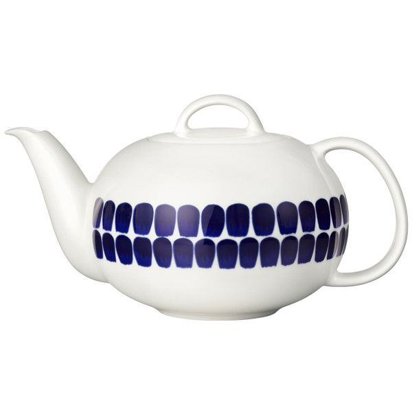 Arabia 24h Tuokio Tea Pot 1 2 L Tea Pots Tea Blue Teapot