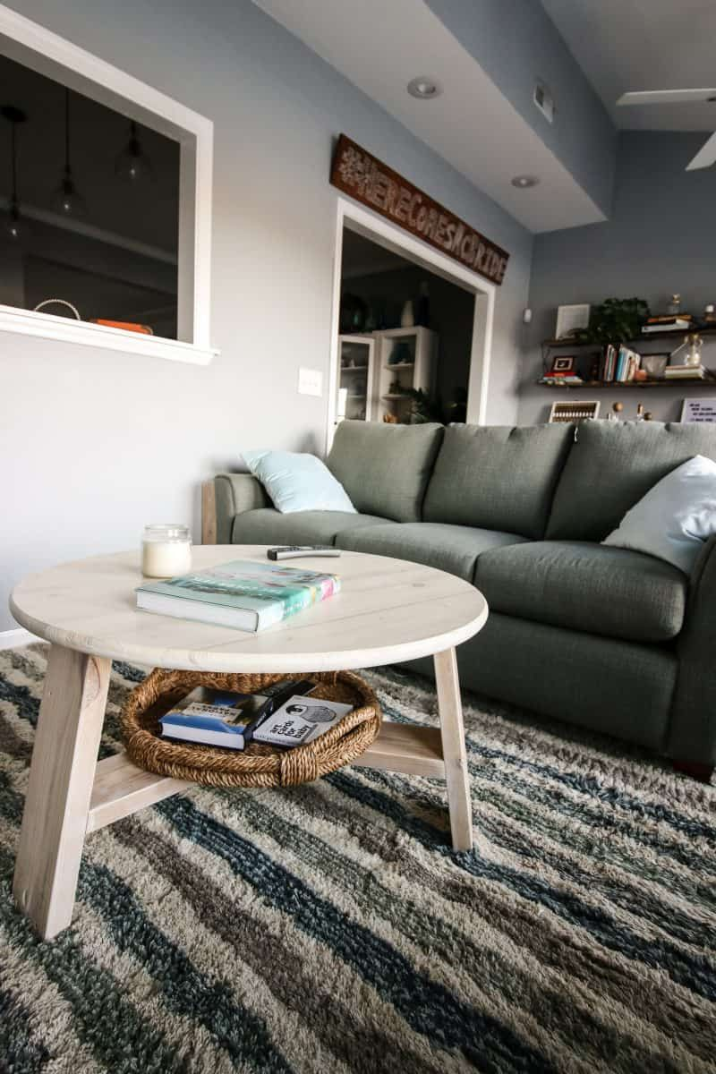 how to build an easy modern diy coffee table charleston crafted rh pinterest es