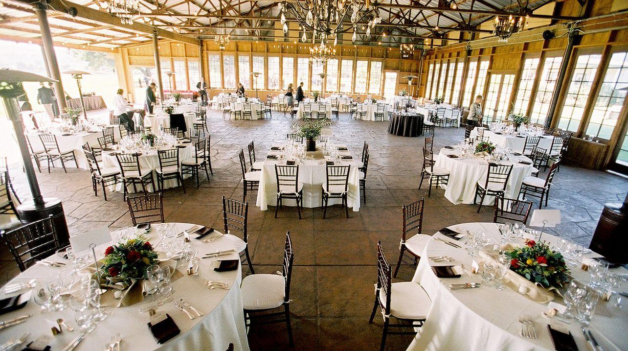 backyard wedding venues in orange county ca%0A Open floor plan of pole barn wedding
