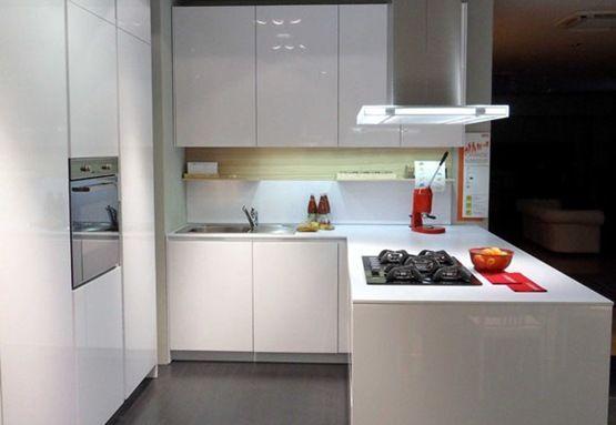 Dise o cocinas cuadradas peque as buscar con google for Cocinas cuadradas pequenas