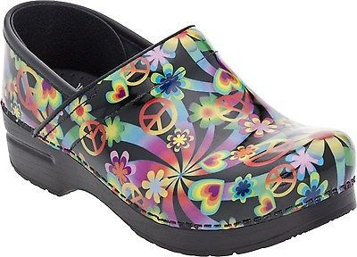 d9b930a1479 Dansko Professional Clog Psychedelic Patent Womens sizes 36-42 6-12 NEW!!