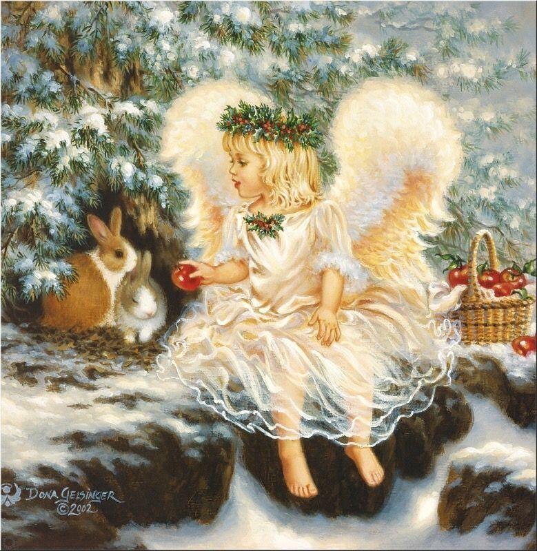 Kerst Engel Angel pictures, Angel wallpaper, Painting