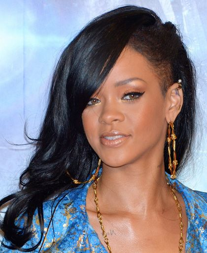 hairstyles side undercut rihanna hairstyles and ghd