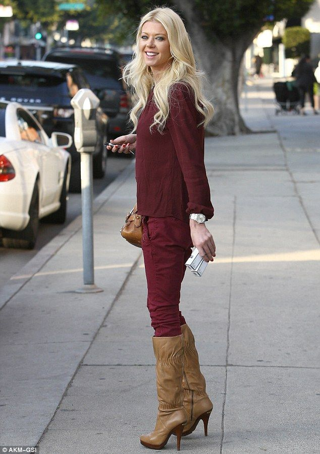 Tara Reid Looks Happy And Healthy As She Shops For Beauty Products
