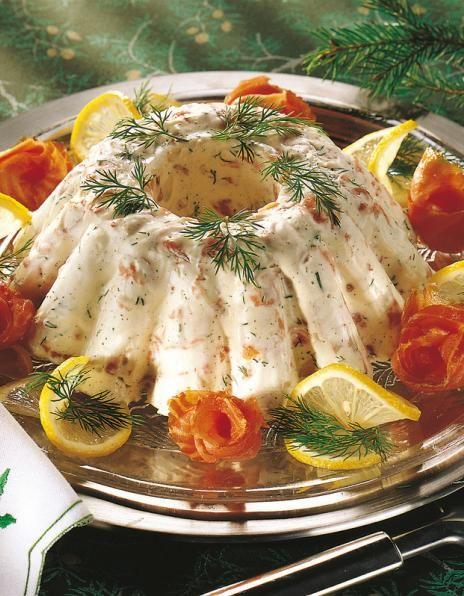 Kylmäsavukirjolohihyytelö   Joulu   Pirkka / cold smoked salmon gelee