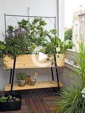 Photo of Space-saving balcony decorating ideas with Planter – Unique Balcony  Garden … – Space-saving
