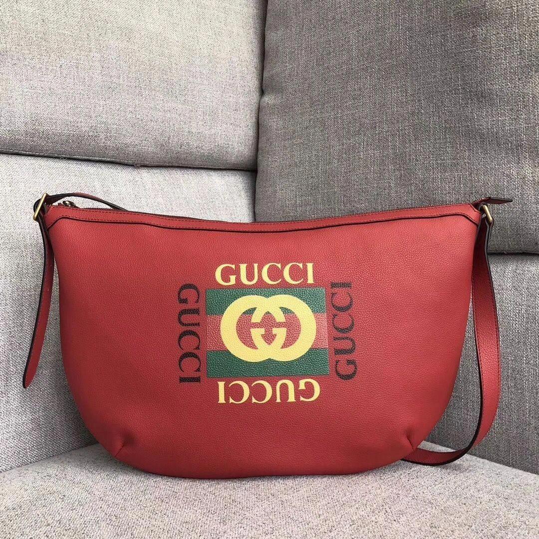 f718582f3f2 Gucci leather coco capitan vintage logo belt bag 493869 yellow 2017 ...