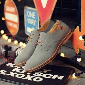 Leather Casual Shoes - Saiasimenstore